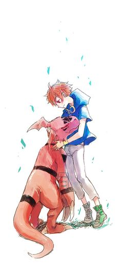 Digimon tamers I think I am going to cry because of the last episode of this season