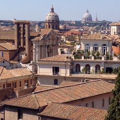 Rome, view from Musei Capitolini terrace