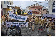 "Carnaval de Olinda. Bloco ""Mangue Beat"". #Olinda. Estado de Pernambuco, Brasil."