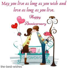 Anniversary Wishes For Friends Straight From The HEART marriage anniversary wishes to friend 50th Wedding Anniversary Wishes, 25th Marriage Anniversary, Aniversary Wishes, Anniversary Quotes For Parents, Anniversary Wishes For Parents, Birthday Quotes, Birthday Wishes, Outdoor Gardens, Positive Quotes
