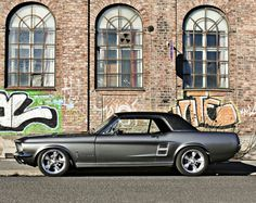 Gorgeous 67 Mustang Coupe