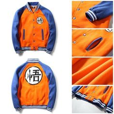 Description This is a Limited Time Offer: 40% OFF + FREE SHIPPING This is definitely one of our favorite Dragon Ball Z products - The limited edition Dragon Ball Z Varsity Jacket! Make your choice bet