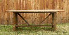 Farmhouse Reclaimed Wood Table