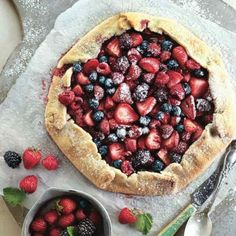 Follow this classic French recipe to make a Very Berry Galette.