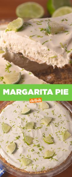 This Boozy Frozen Margarita Pie Is R-Rated