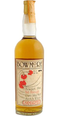Bowmore 1966 from the now legendary (and extremely pricey) Samaroli collection
