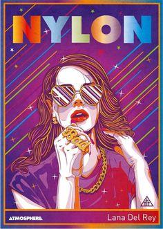 Lana Del Rey by atmosphere , via Behance Pop Art Pictures, Art Pics, Lana Rey, Pop Art Illustration, Airbrush Art, Illustrations Posters, Street Art, Ldr, Drawings