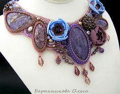 Design of the day - necklace Inspiration by Olga Barannikova | Beads Magic