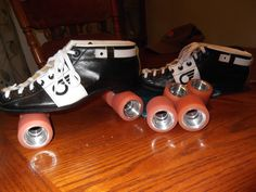 Just like my Speed Skates Roller Disco, Roller Derby, Roller Skating, Speed Skates, Back In The Day, Quad, Converse Chuck Taylor, High Top Sneakers, Places