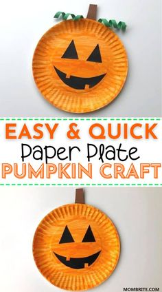 Halloween Arts And Crafts, Halloween Crafts For Toddlers, Fall Crafts For Kids, Toddler Crafts, Halloween Fun, Fun Crafts, Halloween Activities For Preschoolers, Kids Arts And Crafts, Pumpkin Crafts Kids