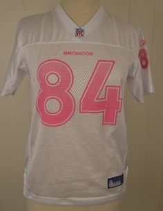 f9a995cabda Available for your consideration is a pre-owned Reebok Denver Broncos Javon  Walker NFL football jersey. Jersey is a girls youth size large and made of  ...