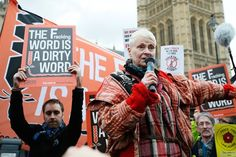 Vivienne Westwood - Fracking is a dirty word.