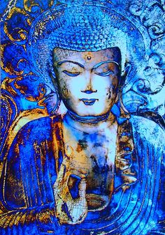 blue #buddha