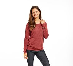 Carve Sutra Tee - Womens - at Outdoormountainspirit.com Long Sleeve Tees, Carving, Pullover, Fabric, Sleeves, Sweaters, Color, Tops, Women