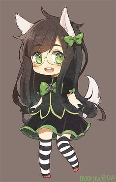 Jade Harley  by paper pie <-- Does anyone in this fandom know when to stop drawing the characters cute?