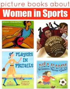 Don't just cheer your daughter on from the sidelines bring sports to her bookshelves too. { From Scholastic Parents }
