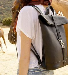 Viva Leather Backpack by Atelier Bits on Scoutmob Shoppe