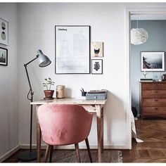 170 Beautiful Home Office Design Ideas Home Office Design, Home Office Decor, House Design, Home Decor, Office Ideas, Home Living, Living Spaces, Room Inspiration, Interior Inspiration