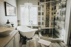 Turn your bathroom remodeling Colorado Springs idea into reality with help from Homefix! We are an award winning bathroom remodeling contractor in Colorado Springs. Bathroom Remodel Pictures, Half Bathroom Remodel, Shower Remodel, Bath Remodel, Bathroom Renovations, Home Remodeling, Cheap Renovations, Kitchen Remodeling, Diy Vanity
