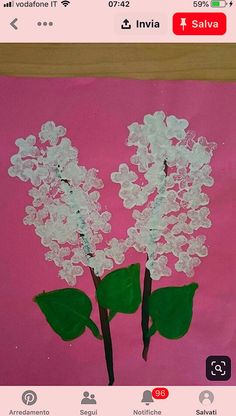 Flower Crafts Kids, Hand Crafts For Kids, Daycare Crafts, Classroom Crafts, Mothers Day Crafts, Preschool Crafts, Art For Kids, Spring Arts And Crafts, Spring Art Projects