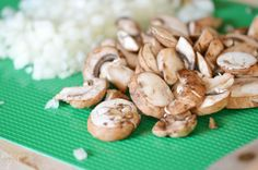 sliced-mushrooms-diced-onion-for-pasta-dish