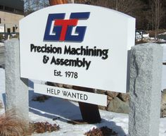 Granite Posts Help Wanted, Granite, Posts, Signs, Messages, Granite Counters, Shop Signs, Marble, Sign