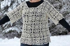 Free Ravelry Download. Ravelry: Crochet tunic/Virkad tunika pattern by Ulrika Andersson