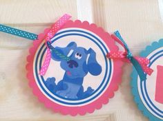 Blues Clues Happy Birthday Banner by BerrySweetParties, $25.00 USD