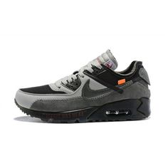 Sell and buy Men Off White x Nike Air Max 90 Black Gray White - from category Nike Air Max 90 (Nike Air Max Shoes On Sale) cheap price White Shoes Men, Off White Shoes, Nike Air Max Plus, Air Max 90 Schwarz, Air Max Sneakers, Air Max 90 Sale, Air Max 90 Hyperfuse, Air Max 90 Black, Grey Nikes