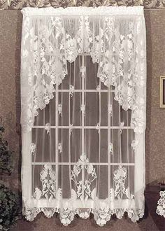 WINDSOR Is An Ornate And Very Formal Heritage Lace Collection That Flowery Victorian In The Style Of European Curtains