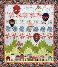 Up Up and Away Quilt Kit by Maywood Studio