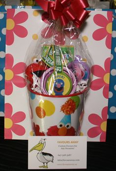 Sesame Street Juniors #lootbags by #Favours Away.