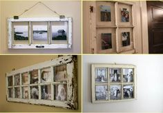 things+to+do+with+old+window+frames | Creative photo frames 2 Make Your Own Frames