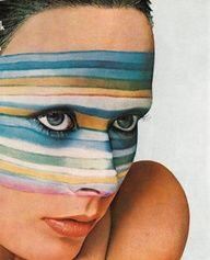 """Explosion de Couleurs"" _ Christian Dior make-up advertisement _ Photo by Guy Bourdin ss Guy Bourdin, Edward Weston, Laura Lee, Christian Dior, Inspiration Art, Fashion Inspiration, War Paint, Face Art, Face And Body"