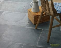 Stone   Stone Flooring   Furnishings   Orangeries - Garden Rooms - Pool Houses I would actually put this in a kitchen even, as long as there was a non-gloss semi-glaze over it maybe?  Not too slippery, but protected and easier to clean perhaps.