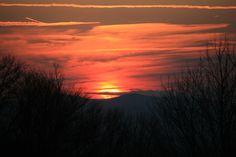 Sunset Tucker County West Virginia