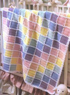 nice Knitting Baby Blanket
