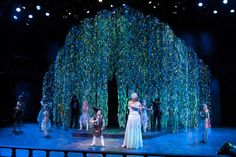 """""""A Midsummer Night's Dream"""" - too extravagant for high school? Probably..."""