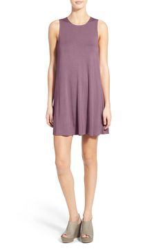 Free shipping and returns on Socialite High Neck Dress at Nordstrom.com. A pair of hidden pockets adds convenience to an easy tank dress cut from stretch-knit jersey that's as soft and comfy as your favorite tee.