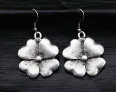 silver earrings on Etsy, a global handmade and vintage marketplace.