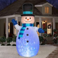89 Best Frosty The Snowman Inflatable Images Frosty The