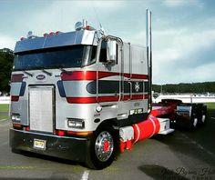 Peterbilt Custom Cab Over Show Trucks, Big Rig Trucks, Old Trucks, Pickup Trucks, Peterbilt 379, Peterbilt Trucks, Custom Big Rigs, Custom Trucks, Volvo