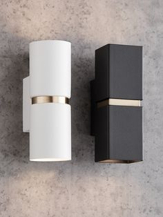 Bathroom Lights Up or Down Best Of Baristo 2 Light Up Down Round Wall Bracket In White Brass In Hallway Wall Lights, Hallway Sconces, Black Wall Lights, Bathroom Wall Lights, Modern Wall Lights, Wall Lamps, Facade Lighting, Outdoor Wall Lighting, Exterior Lighting