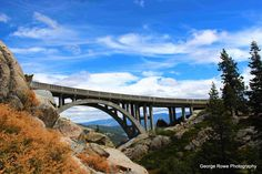 Donner Summit Bridge, Nevada County, CA