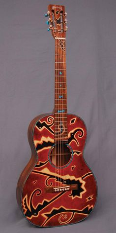One-of-a-kind Martin Custom Shop 000 12-fret Peter Cree Certified Wood Guitar $20000