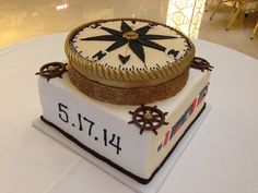 Think Outside the Cake Box: Showcase the #GroomsCake at the Rehearsal Dinner #signaturecakesbyvicki | Nashville Wedding Guide for Brides, Grooms - Ashley's Bride Guide