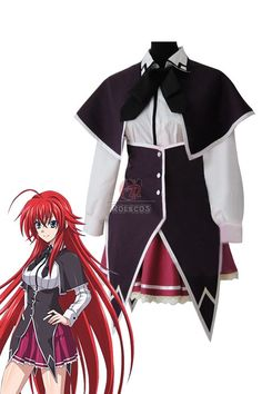 Buy High School DXD Rias Gremory Anime Costume Womens - RoleCosplay.com