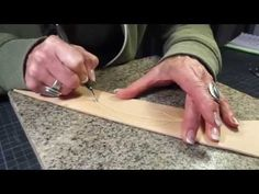 How to make a leather feather - YouTube