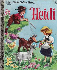 I used to read this book when I was a little girl, so cute.