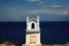 Greek Island Roadside Shrine